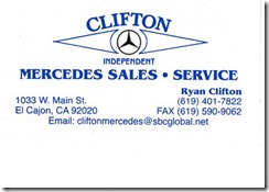 Clifton Mercedes